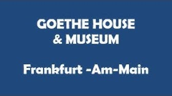 Goethe House and Museum - Franfurt am Main 3